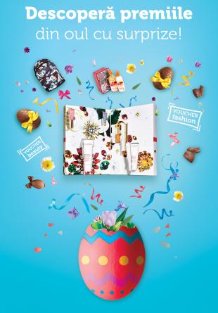 Tombolă de Paște - Descoperă premiile din oul cu surprize!